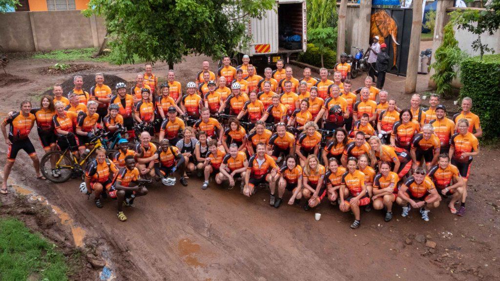 Rob & Desiree Olsthoorn fietsen 500 km voor GEF Kenya