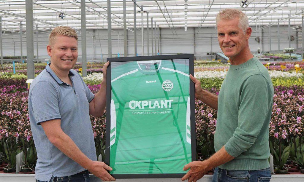 Trotse shirtsponsor van RKVV Westlandia zaterdag 4